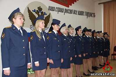 Форменная одежда полиции платье женское летнее