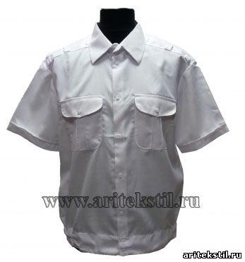 сорочка для кадетов с коротким рукавом