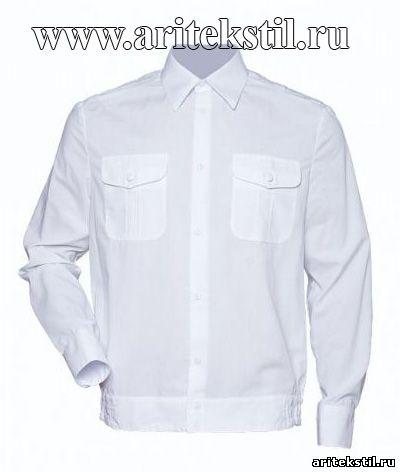рубашка сорочки для кадетов с длинными рукавами