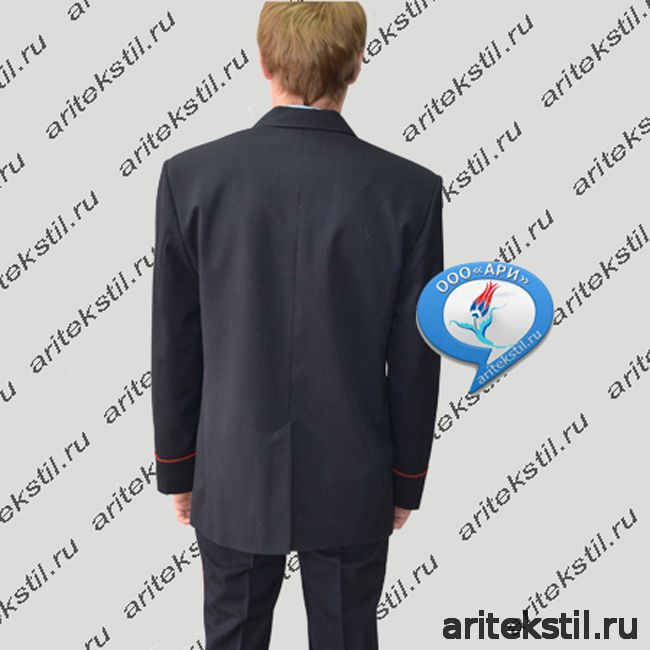 Парадный китель для МВД Полиции России мужской тк п/ш или габардин темный синий