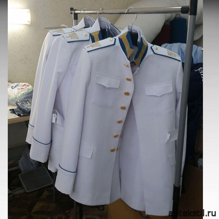 Кадетский Костюм белый парадный китель для кадетов