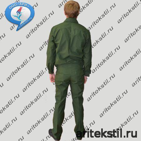 Костюм Офисный летний повседневный тк рип-стоп цвет черный, синий, зеленый (Куртка и Брюки или и Юбка)